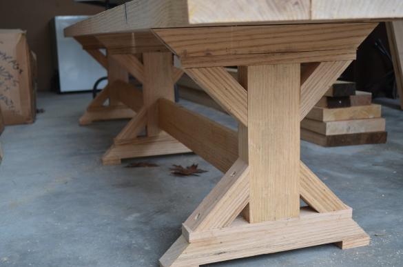 table leg plans